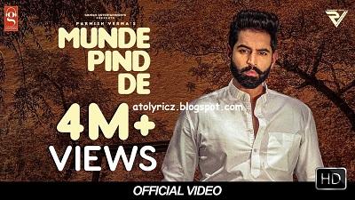 Parmish Verma - Munde Pind De Lyrics