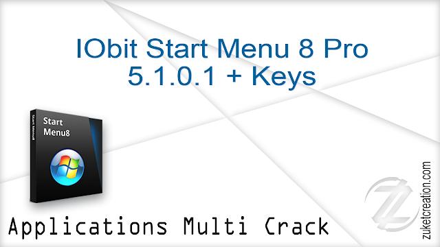 IObit Start Menu 8 Pro 5.1.0.1 + Keys