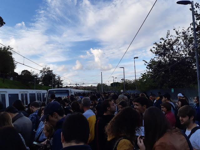 Lo sciopero bianco dei macchinisti della Roma-Lido
