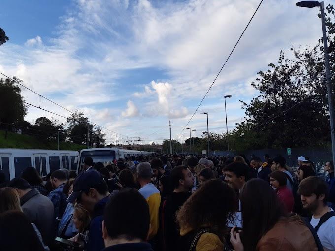 Cosa succede se si rompe un treno della Roma-Lido?