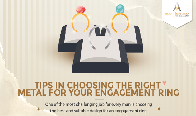 Tips in Choosing the Right Metal for Your Engagement Ring #infographic