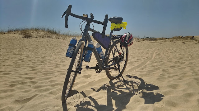 Алешковские пески на шоссере