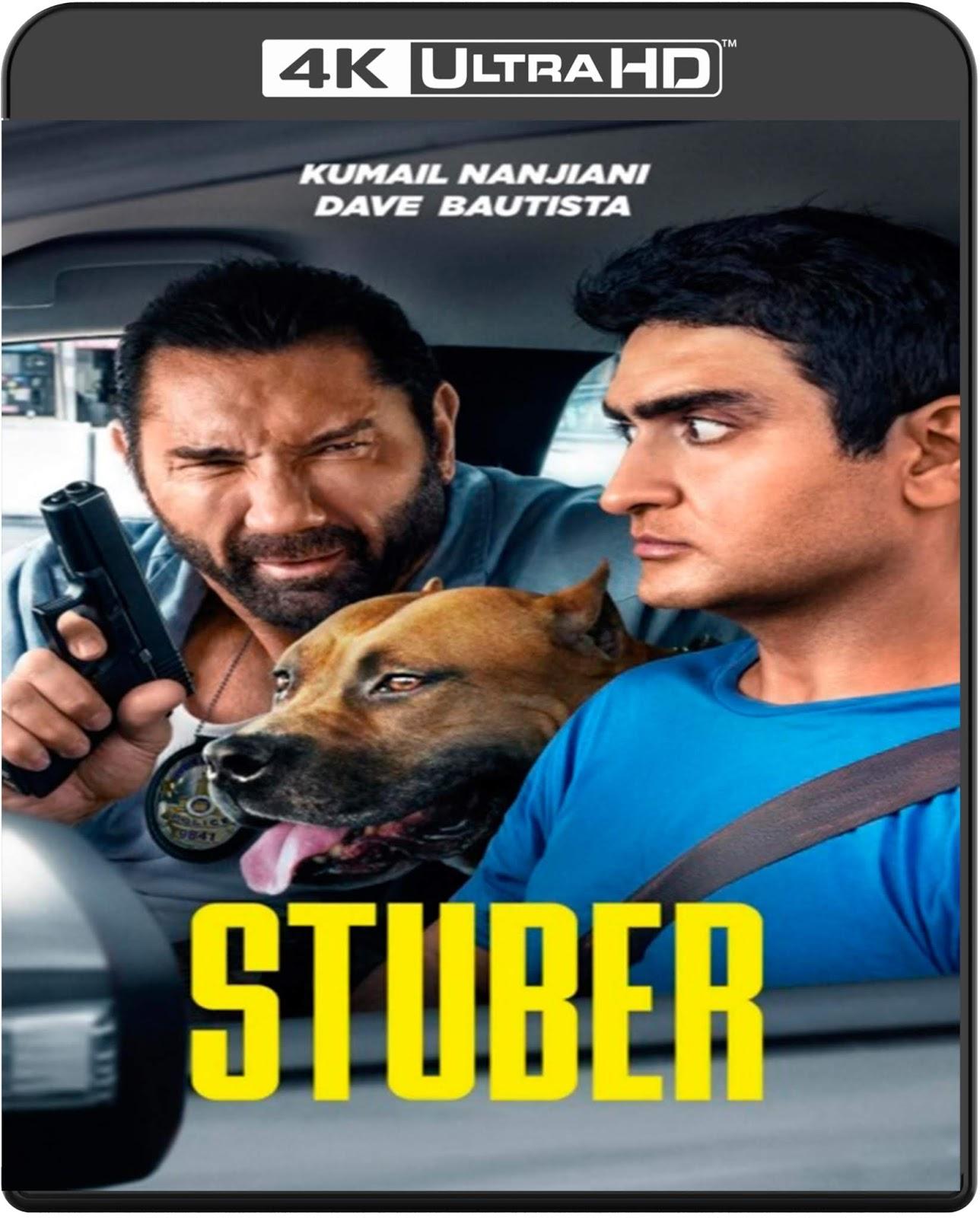Stuber [2019] [UHD] [2160p] [Latino – Castellano]