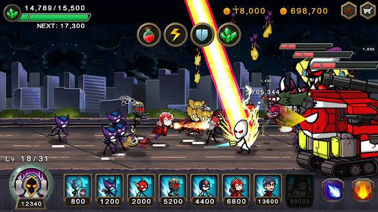 Hero wars gameplay battle ground