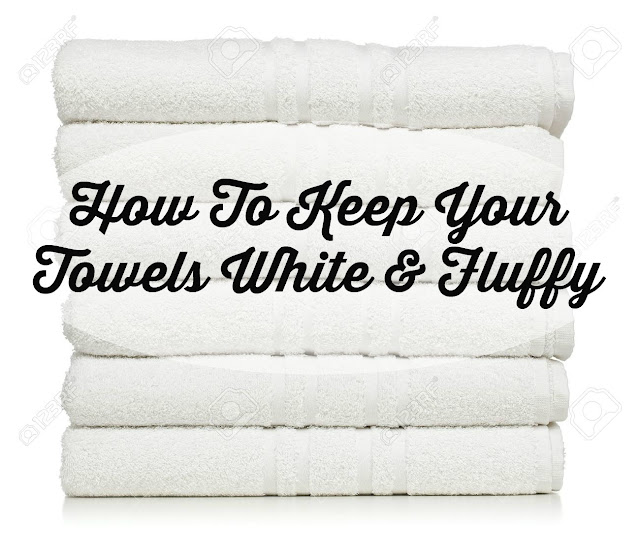 how to keep your white towels fluffy the glam farmhouse. Black Bedroom Furniture Sets. Home Design Ideas