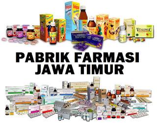 daftar perusahaan farmasi Jawa Timur