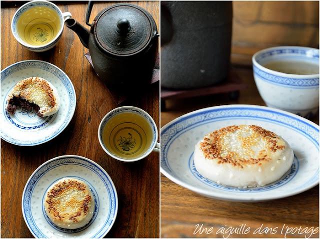 dessert-riz-gluant-pâte-haricots-azuki-cuisine-chinoise