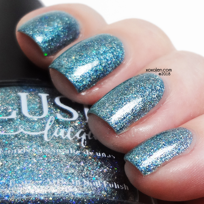 xoxoJen's swatch of Blush Teal On Ice