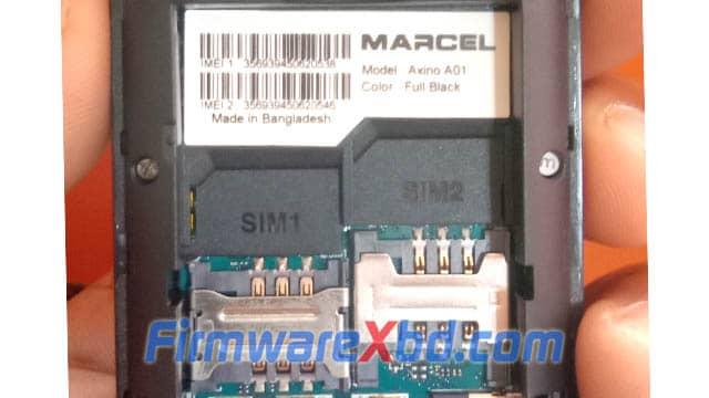 Marcel A01 6531E Flash File Download