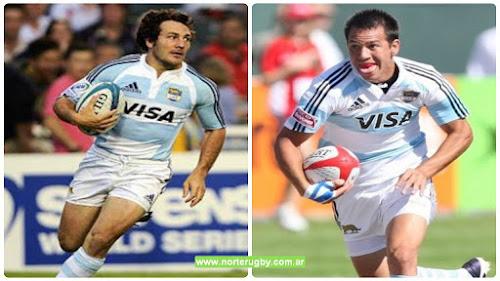 Lucio López Fleming y Martín Núñez en Los Pumas 7s