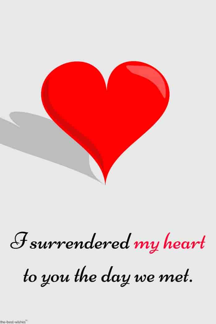 my heart quote for her