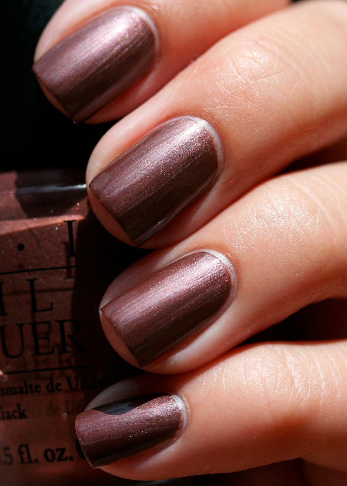 The Nail Network: OPI Route Beer Float