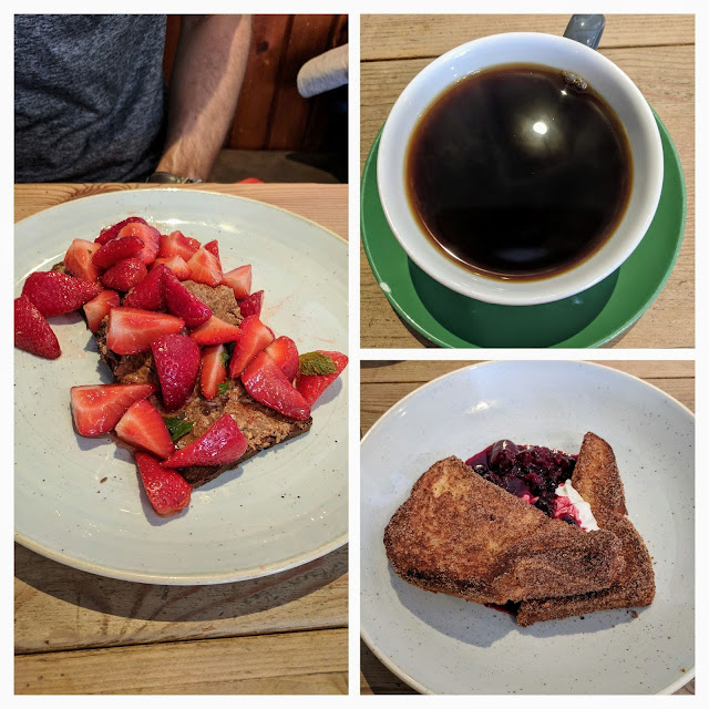 Where to eat in Edinburgh in summer: brunch at Urban Angel in Edinburgh New Town