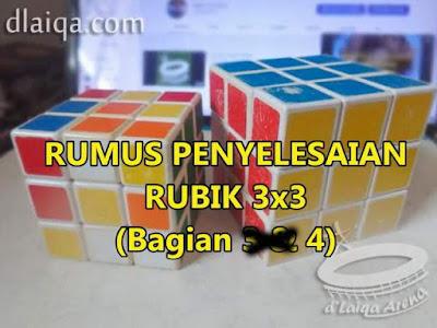 Penyelesaian Rubik 3x3 (Bagian 4)