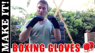 DIY Boxing Gloves