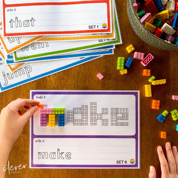 Number Word Mats - Pre-Writers   you clever monkey