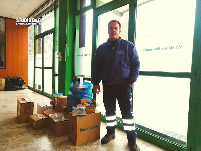 Νέα δωρεά από τη Euroins Ελλάδος και τον Κ. Μάκαρη ενισχύει το ΕΚΑΒ Αργολίδας