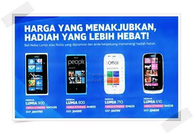 Nokia Malaysia - Promosi Lumia - Nokia Lumia Jatuh Harga Lagi