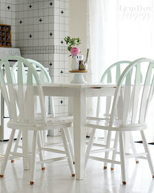 Painting kitchen table set