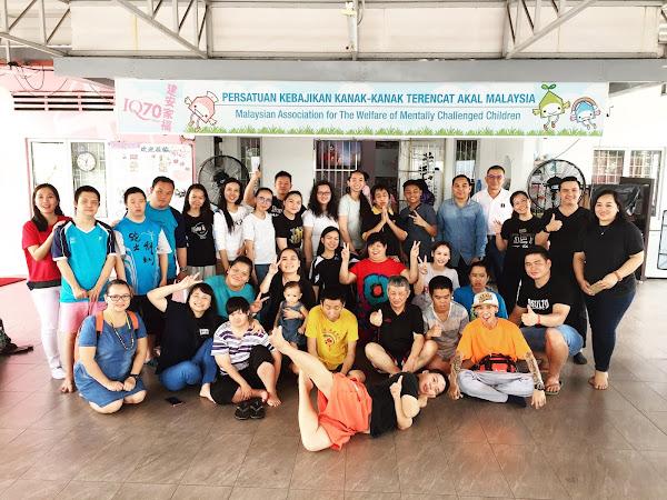 Never forget ( Our visit to Pusat Kebajikan Kanak-Kanak Terencat Akal Malaysia)