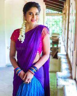Bigg Boss Shivani Hot Saree Sexy