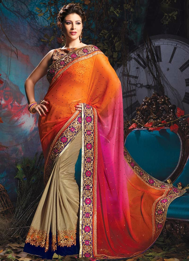 Latest Bollywood Party Wear Salwar Suits 2016 2017: Latest Fashion Trends Of Designer Lehenga Saris