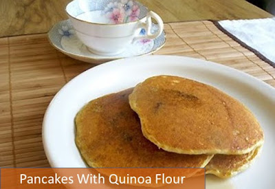 Pancakes With Quinoa Flour