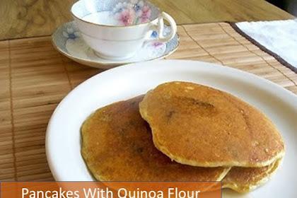 4 Pancakes With Quinoa Flour Recipe