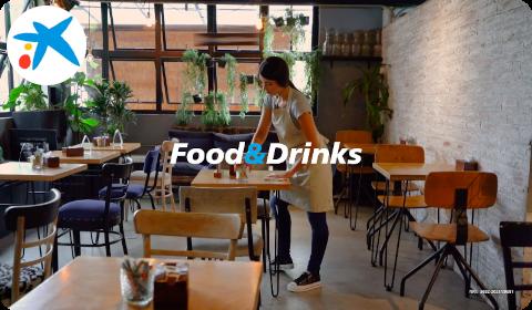 CaixaBank – Food&Drinks