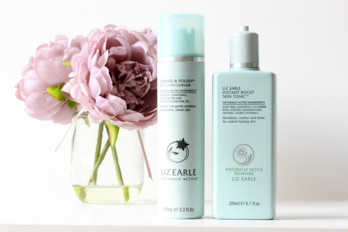Skincare routine, Jurlique, Liz Earle, Clarins