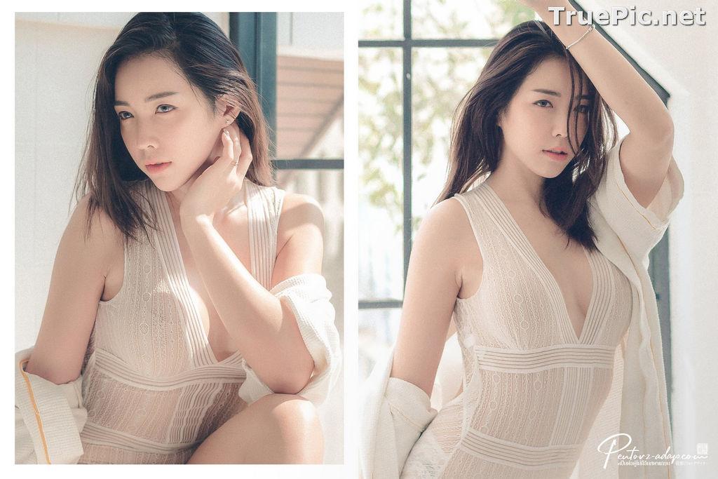 Image Thailand Model - Soraya Suttawas - Monikini Bath Light - TruePic.net - Picture-1