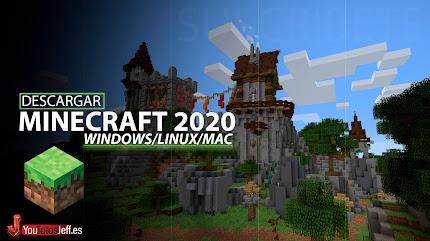 Como DESCARGAR MINECRAFT Ultima Versión 2020 Gratis Español - 32 y 64 Bits