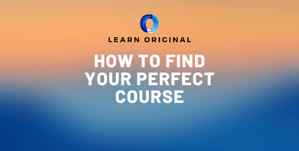 how to find your perfect course