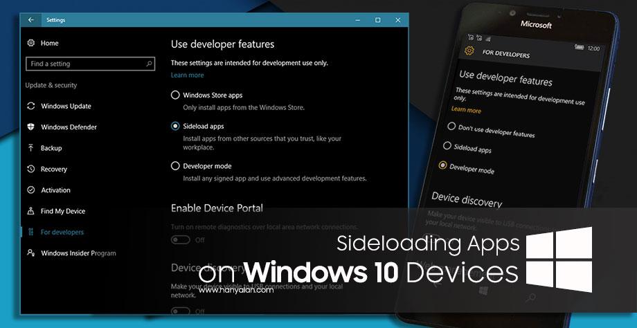 Sideloading: Begini Cara Mengaktifkan Sideload App di Perangkat Windows