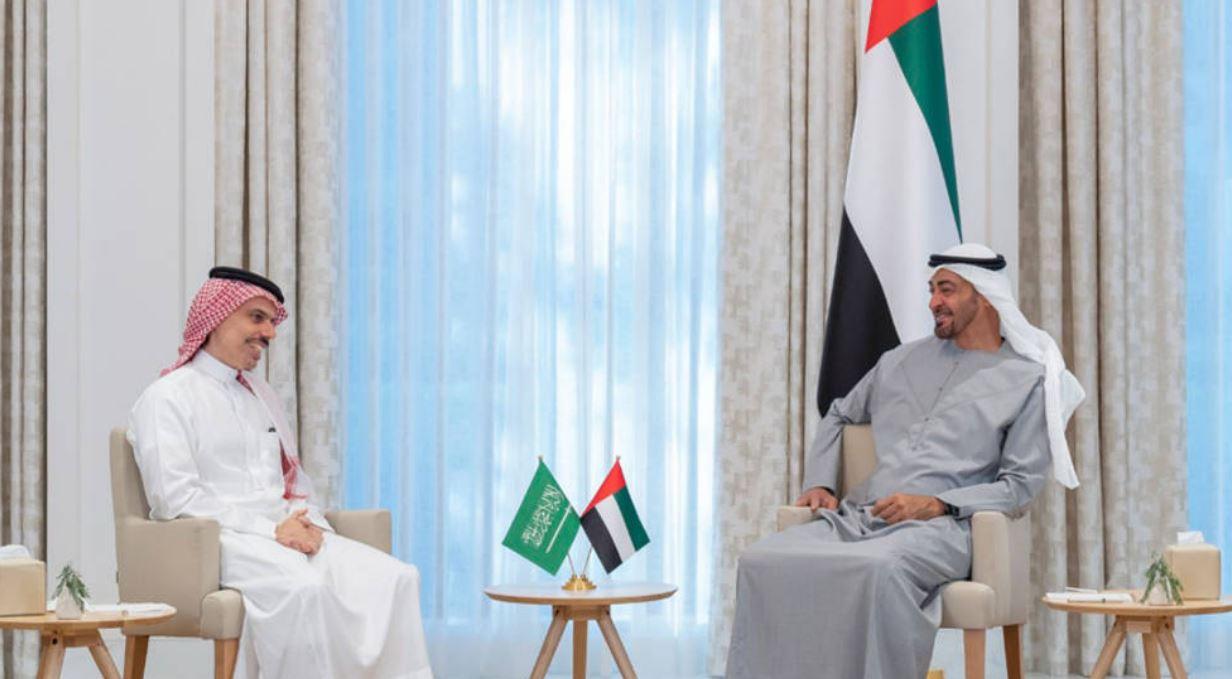 محمد بن زايد: علاقتنا بالسعودية عميقة وحريصون على تنمية التعاون