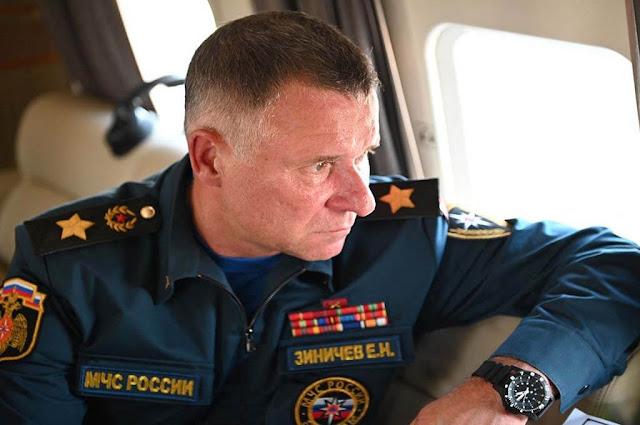 Chefe do ministério Evgeny Zinichev