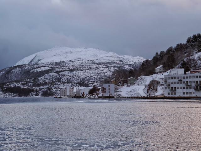 Winter covered Kristiansund