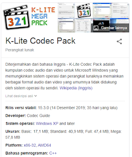 Update K-Lite Codec Pack To Fix windows media player encountered a problem while playing the file