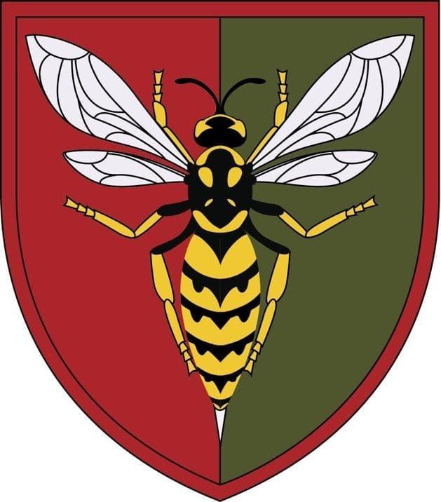 Затверджено емблему 38-го зенітного ракетного полку