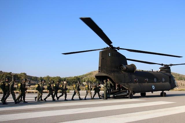 Κρήτη: Έρχονται τα Σινούκ του Ελληνικού Στρατού (ΒΙΝΤΕΟ)