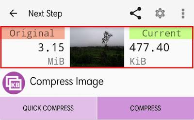 Cara Kompres Foto di HP