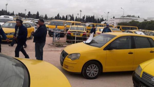إستئناف نشاط سيارات الأجرة مؤجل إلى غاية إشعار آخر