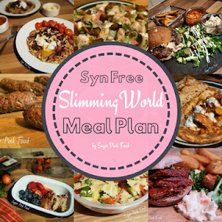 7 day syn free slimming world meal plan