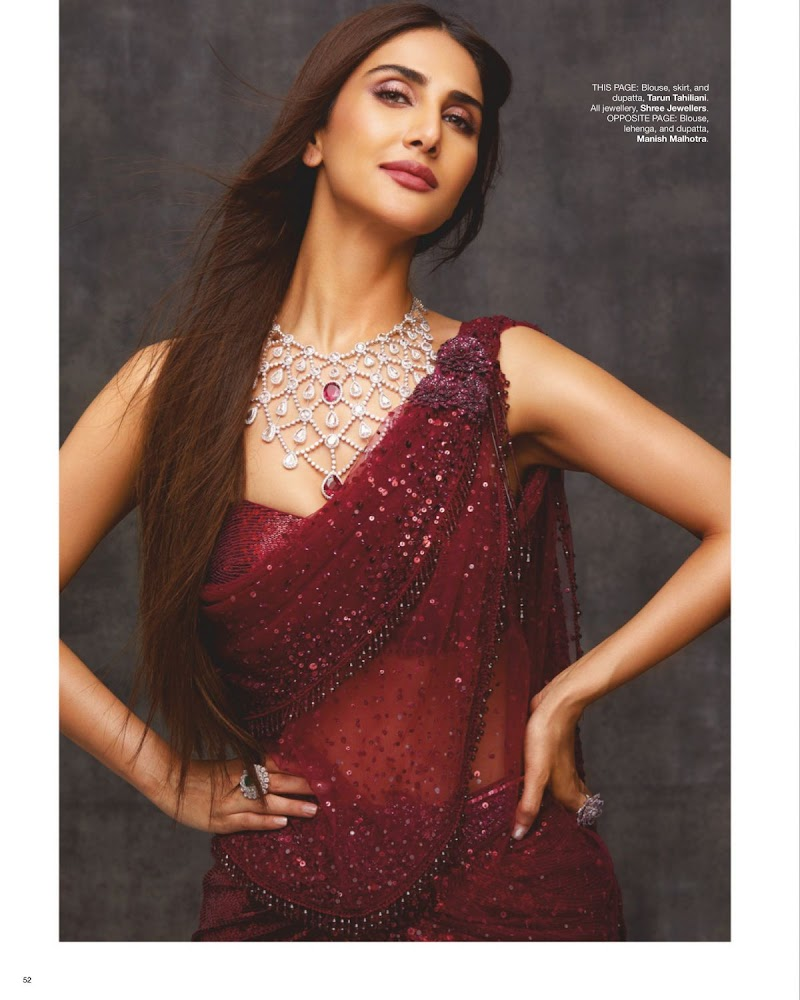 Vaani Kapoor Featured in Bride Today Magazine - March 2020