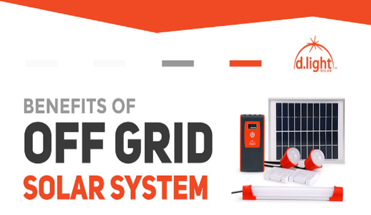 Benefits of Off-Grid Solar System #Infographic