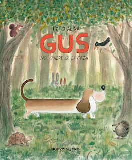 Gus no quiere ir de caza