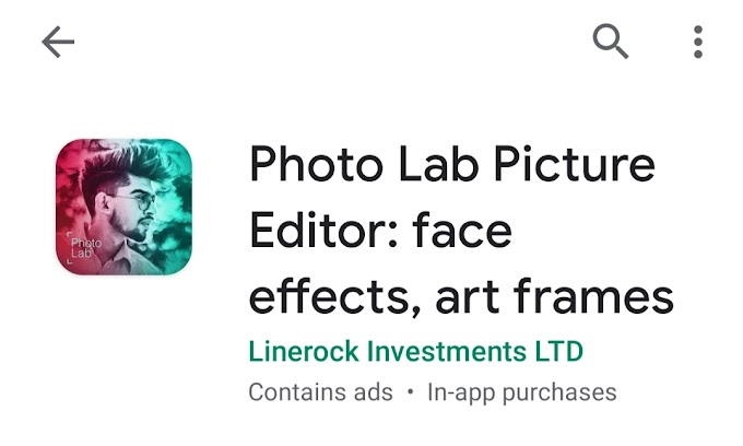 How could Photo Lab app become social media trend ? make photos like painting !