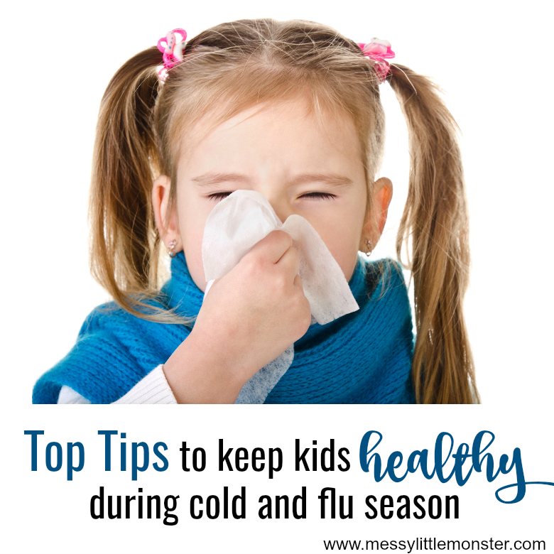 Keep kids healthy and avoid cold and flu