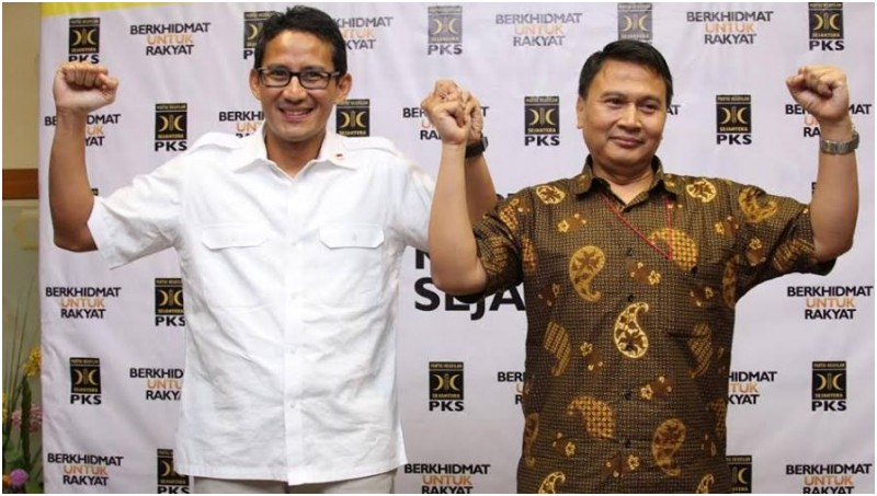 Sandiaga Salahuddin Uno dan Mardani Ali Sera