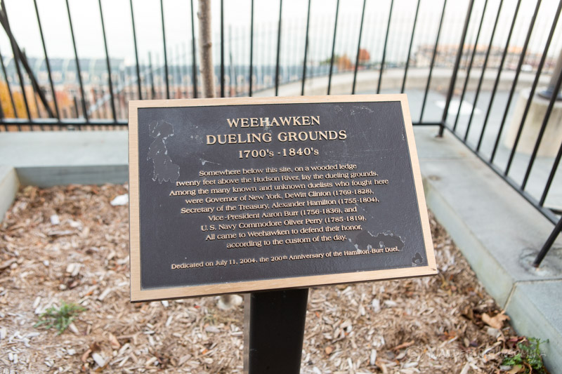Weehawken Dueling Grounds And Hamilton Park Wandering